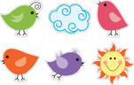 Happy Birds Accents