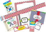 Chevron Nautical Designer Classroom Set