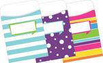 Peel & Stick - Happy Library Pockets