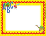 ABC Animals Name Tag