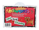 Magnetic Kidwords®-City & Country