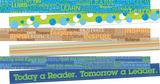 Word Wall Double-Sided Border with Motivational Words