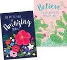 New! Poster Duet Set - Petals & Prickles