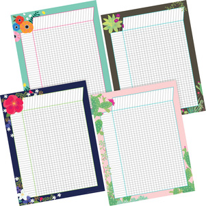 NEW! Petals & Prickles Incentive Chart Set picture