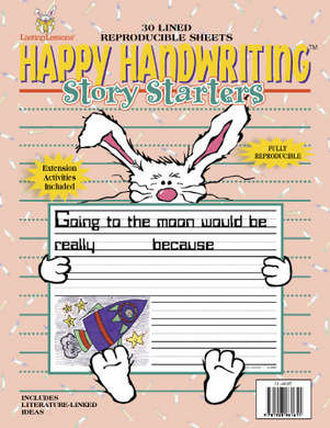 Happy Handwriting Story Starters 1st-2nd Tablet (downloadable PDF) picture