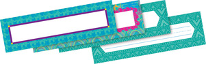 Bohemian DOUBLE-SIDED Name Plates picture