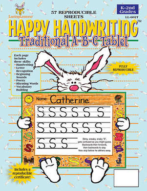 Happy Handwriting ABC Tablet picture
