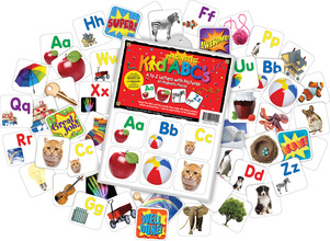 NEW! Magnetic KidABC's™ A-Z Letters with Pictures picture