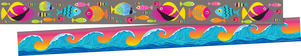 NEW! Kai Ola Tropical Fish Double-Sided Trim picture