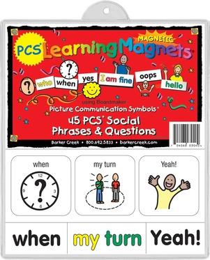 PCS® Learning Magnets® 45 Social Phrases & Questions picture