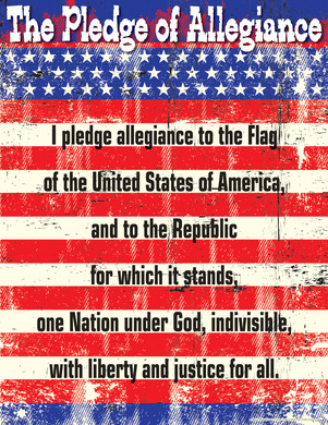 Pledge of Allegiance Chart picture