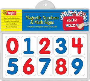 Learning Magnets Numbers & Math Signs picture