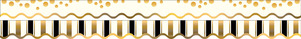 Gold Coins - Double-Sided Border / Scalloped Edge picture
