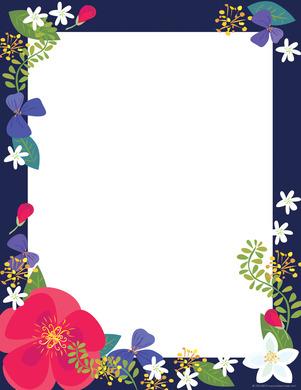 NEW! Petals Computer Paper picture
