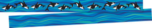 NEW! Sea & Sky Double-Sided Trim - Whales picture