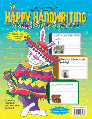 Happy Handwriting Spanish Story Starters 1 picture