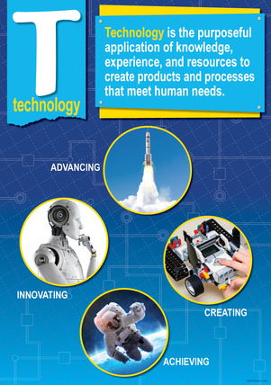 NEW! STEM/STEAM Poster - Technology picture