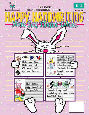 Happy Handwriting More Fun Theme Tablet (downloadable version) picture