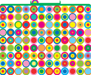 Disco Dots File Folders picture