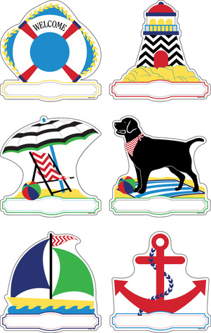 Double-Sided Chevron - Nautical Accents picture