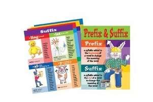 Prefixes/Suffixes Chart Set picture
