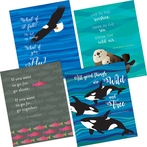 NEW! Art Print Set - What if You Fly picture