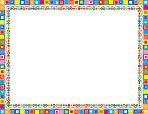 Retro Border Chart picture