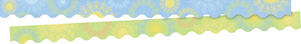 NEW! Mindfulness Sunrise Double-Sided Border / Scalloped Edge picture