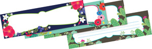 NEW! Petals & Prickles DOUBLE-SIDED Name Plates picture
