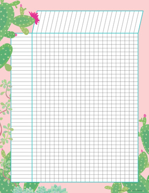 NEW! Incentive Chart - Prickles Blush picture