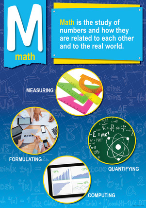 NEW! STEM/STEAM Poster - Math picture