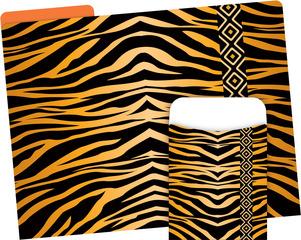Folder/Pocket Set - Tiger picture