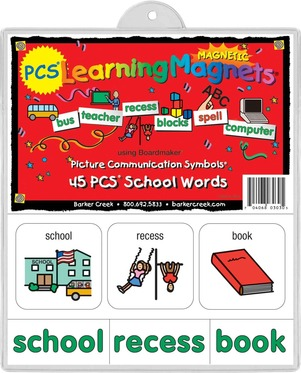 PCS® Learning Magnets® 45 School Words picture