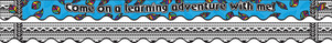 A Learning Adventure Double-Sided Border / Scalloped Edge picture