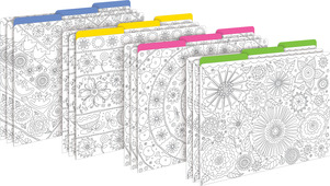 Color Me! In My Garden File Folders picture