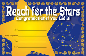 Congratulations! You did it! Award picture