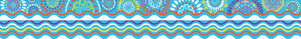 Moroccan - Double-Sided Border / Scalloped Edge picture