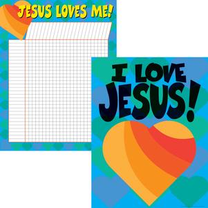 Jesus Loves Me Chart Set picture