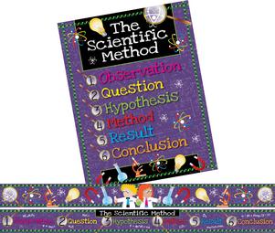 Scientific Method Bulletin Board Set picture