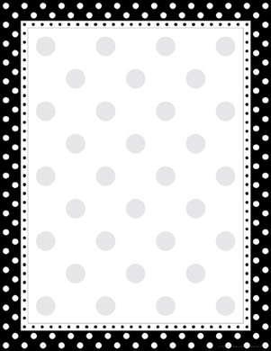 Black & White Dot Computer Paper picture