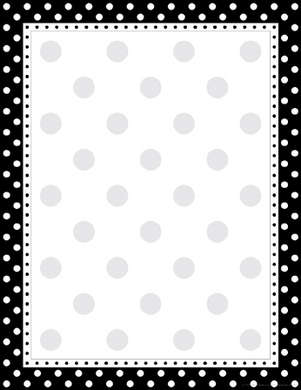 Black & White Dot Computer Paper picture