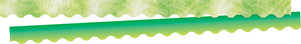 NEW! Tie-Dye and Ombré - Lime Double-Sided Scalloped Trim picture