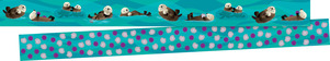 NEW! Sea & Sky Double-Sided Trim - Otters picture