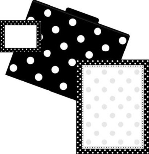 Get Organized! Black Dots picture