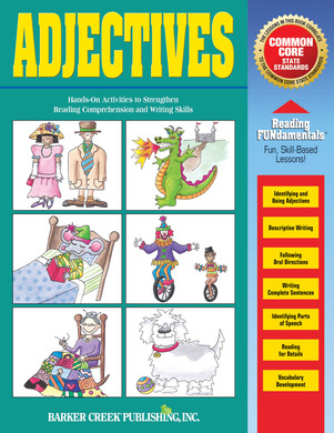 Adjectives (downloadable PDF) picture