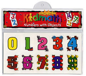 Limited Supply! Magnetic Kidmath™ Numbers with Objects (while supply lasts) picture