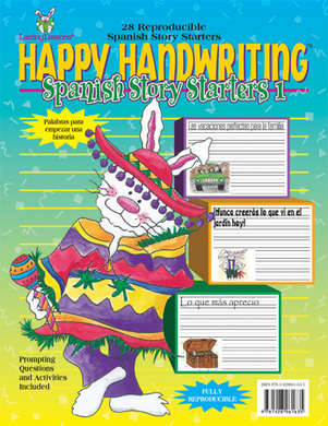 Happy Handwriting Spanish Story Starters 1 (downloadable PDF) picture