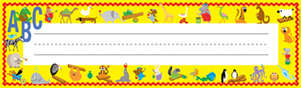ABC Animals Name Plates picture