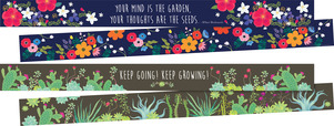 NEW! Petals & Prickles Border Set (two designs) - 70 Feet/Set picture