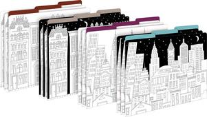 Color Me! Cityscapes File Folders picture